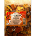 Self-adhesive label for dried fruit