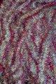 Мишура серебристая серебро голограмма розовый кончик, длина 1.5м, диаметр 50мм .