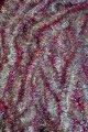 Мишура серебристая серебро голограмма розовый кончик, длина 1.5м, диаметр 25мм.