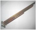 ТЕН 2500 W (1000+1500), фланец d63, резьба под анод М4, медь. TW Італія, М631510 TW