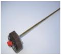 Терморегулятор 16A, 27 см, RTS, с флажком, двойная защита 74/93*, 181347, 1401R TW