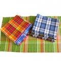 Вафельные полотенца цветные 45х75 арт.: 6518