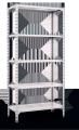 """""""МКП 250"""" Стеллаж усиленный  складской на болтах с металлическими полками"""