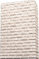 "Tile ""Madeira"", plaster with a seam, direct (1 packing = 0,45 sq.m)"