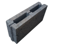 Блок простеночный керамзитобетонный пазогребневый 390х100х193