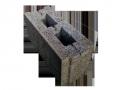 Блок стеновой керамзитобетонный пазогребневый 390х160х193