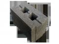 Блок стеновой керамзитобетонный пазогребневый 260х160х193