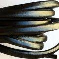 10 x 5 мм, Черный | Кожаный шнур Regaliz | Испания