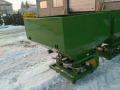 Spreader of mineral fertilizers