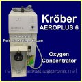 SECOND-HAND Concentrator of Krober AEROPLUS 6 Oxygen Concentrator oxygen