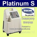 b / At the Concentrator of Invacare PLATINIUM S oxygen