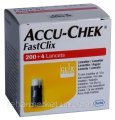 Accu-Chek FastClix Lancets 200+4 Ланцеты Акку-Чек Фасткликс