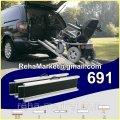 Алюминиевые выдвижные телескопические пандусы. Aluminium Rampen 691 160cm-320cm