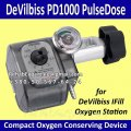 The compact Device for Economy of DeVilbiss PD1000 PulseDose Compact Oxygen Conserving Device Oxygen