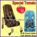 Кресло Special Tomato Sitter Size 2 c деревянной мобильной базой