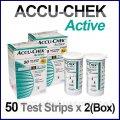Тест-полоски для глюкометра Accu-Chek Active тест-полоска №50 для глюкометров Акку-Чек Актив