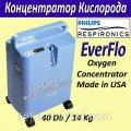 Concentrator of SECOND-HAND Philips Respironics EverFlo 5L/min oxygen