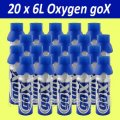 Баллончики кислорода 20 X-Gox-6 Liters Pure Canned Oxygen Spray 6 л кислорода