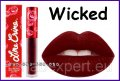 Lime Crime Lipstick Velvetines WICKED - Burgundy Red