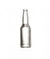 Стеклянная бутылка бесцветная для минеральной воды 330 ml, Twist crown