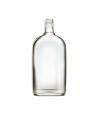 Стеклянная бутылка для крепких напитков 500 ml, PP finish