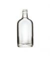 Стеклянная бутылка для крепких напитков 250 ml, PP finish