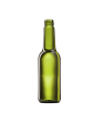 Стеклянная бутылка для вина оливковая 375 ml