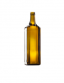 Стеклянная бутылка для вина, цвет коричневый 750 ml, PP finish