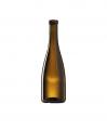 Стеклянная бутылка III-48-800, 375 ml, Special finish, цвет коричневый