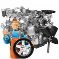 Ремонт двигателя КамАЗ-740
