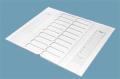 Планшет для хранения и переноски микропрепаратов на 20 предметных стекол(картон) НРСМ-20
