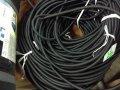 Борцовская резина, Эспандер растяжения резина слоеная в черной обмотке, разная толщина