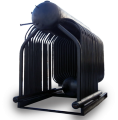 Паровой котел ДКВр - 2.5 на твердом топливе (шелуха и лузга подсолнечника)