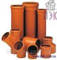 Труба ПВХ 250х6,2х1000 мм, наружная канализация