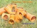 Колено ПВХ 110/30, наружная канализация