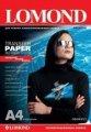 Термотрансферная бумага Lomond для темных тканей, A4, 140 г/м2, 10 листов, код 808421