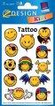 Татуировки с изображениями смайликов , код AVR00008