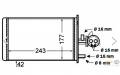 Радиатор отопителя Behr Hella Service, код: 8FH351308-181