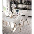 Chair plastic Friend Concepto white SC-PW025-WHITE