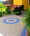 Плитка тротуарная цветная