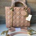 Женская сумка Dior Диор розовая