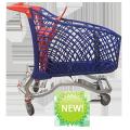 Торговая тележка для гипермаркетов HYBRID SUPER