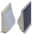 Светодиодные настенные светильники 5 Ватт с солнечной панелью