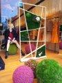 """Оформление витрин стабилизированным мхом """"Artis Green"""""""
