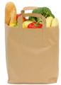 Бумажные пакеты для продуктов питания, для хлеба, фаст-фуда,  кофе и другие оптом с Днепропетровска