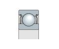Подшипник однорядный с защитной металлической шайбой