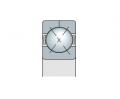 Подшипник с четырехточечным контактом с разъемным внешним кольцом