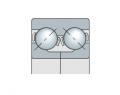 Подшипник двухрядный с двойным внутренним кольцом