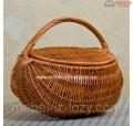 """Basket for a picnic """"Round"""