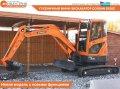 La mini-excavadora Doosan DX35Z